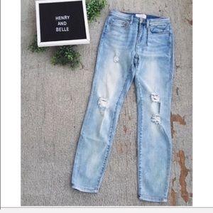 Henry & Belle Skinny Ankle Jeans